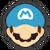 Icône Mario bleu Ultimate
