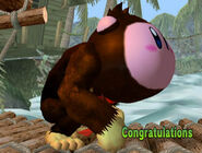 Félicitations Kirby Melee All-Star