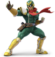 Art Captain Falcon vert Ultimate