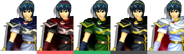 Couleurs Marth Melee