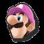 Icône Luigi rose U