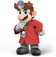Art Dr. Mario rouge Ultimate
