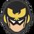 Icône Captain Falcon noir Ultimate