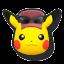 Icône Pikachu violet U