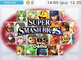 Démo de Super Smash Bros. for 3DS