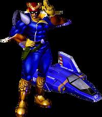 Art Captain Falcon GX