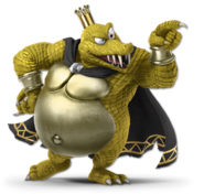 Art King K. Rool jaune Ultimate
