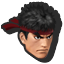 Icône Ryu bleu U