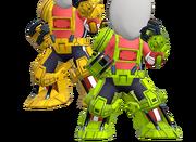 Tenue Armure mécanique Ultimate