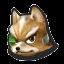 Icône Fox vert U
