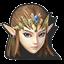 Icône Zelda bleu U