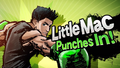 Splash art Little Mac SSB4
