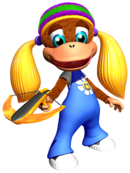 Art Tiny Kong DK64