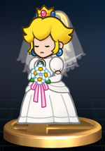 Trophée Peach mariage Brawl