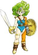 DQIV Heroine Famicom art