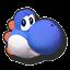 Icône Yoshi bleu U