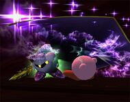 Meta Knight Smash final Brawl 3