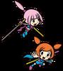 Kat y Ana Game & Wario