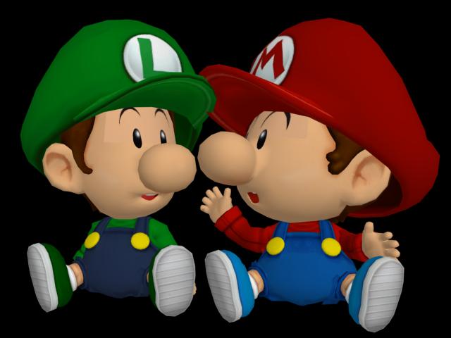 baby mario baby luigi - Bebe Mario