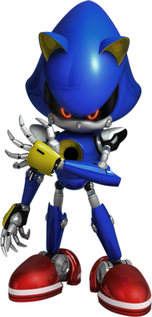 Metal Sonic - Sonic Forces Artwork