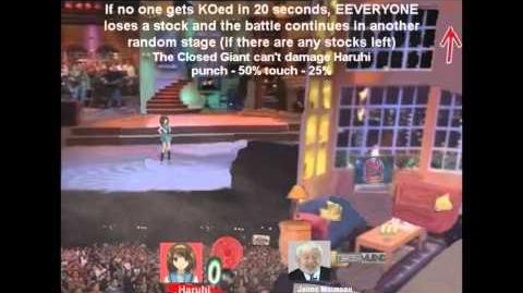 Smash Bros Lawl Character Moveset - Haruhi