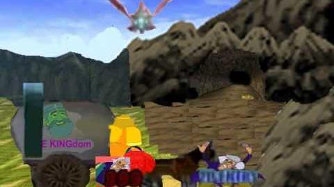 Smash Bros Brawl Subspace Emissary - Hyrule
