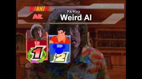 Smash Bros Lawl Character Moveset - Weird Al