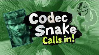 Smash Bros Lawl Character Moveset - Codec Snake-0