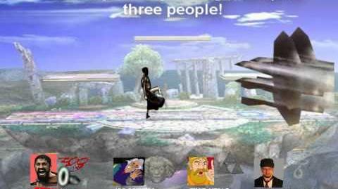 Smash Bros Brawl Character Moveset - Leonidas