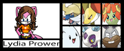 Lydia Prower's Trainer Card