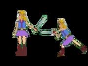Zelda Attack Side A
