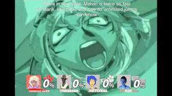 Smash bros Lawl X Character Moveset - Abridged Marik