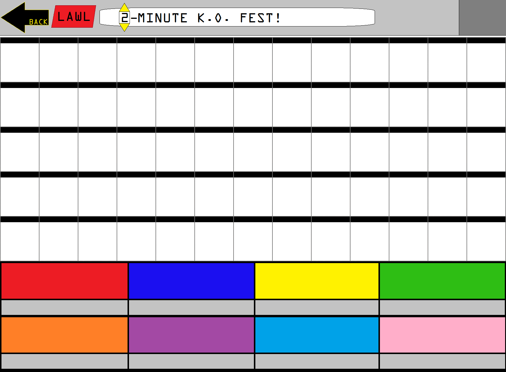 image sblg roster template png world of smash bros lawl wiki
