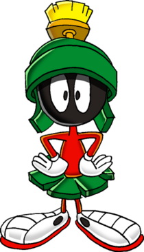 275px-Marvin the martian commision by tails19950-d52zykq