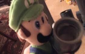 Luigi Has Coffee