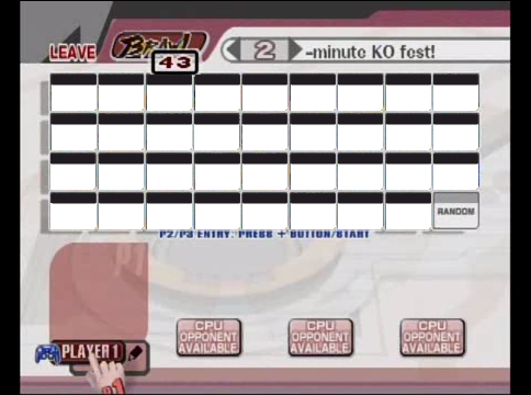 File:SSB Brawl Blank Roster By Joodude.png  Blank Roster