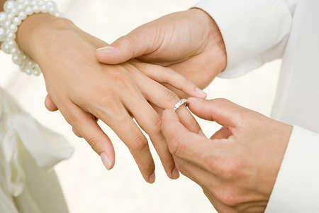 Attirant Wedding Ring Finger