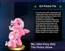 G3 Pinkie Pie Trophy