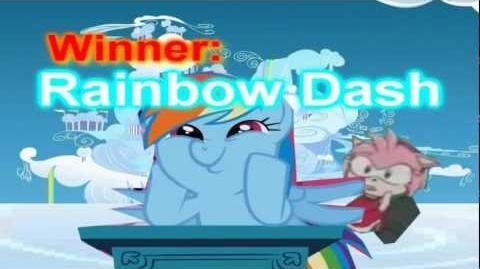 Super Smash Bros Lawl Ultimate - Rainbow Dash