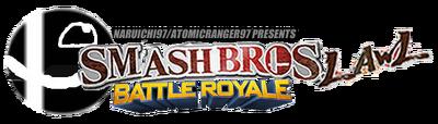 Smash bros lawl battle royale logo by aaronmon97-d5etrc3