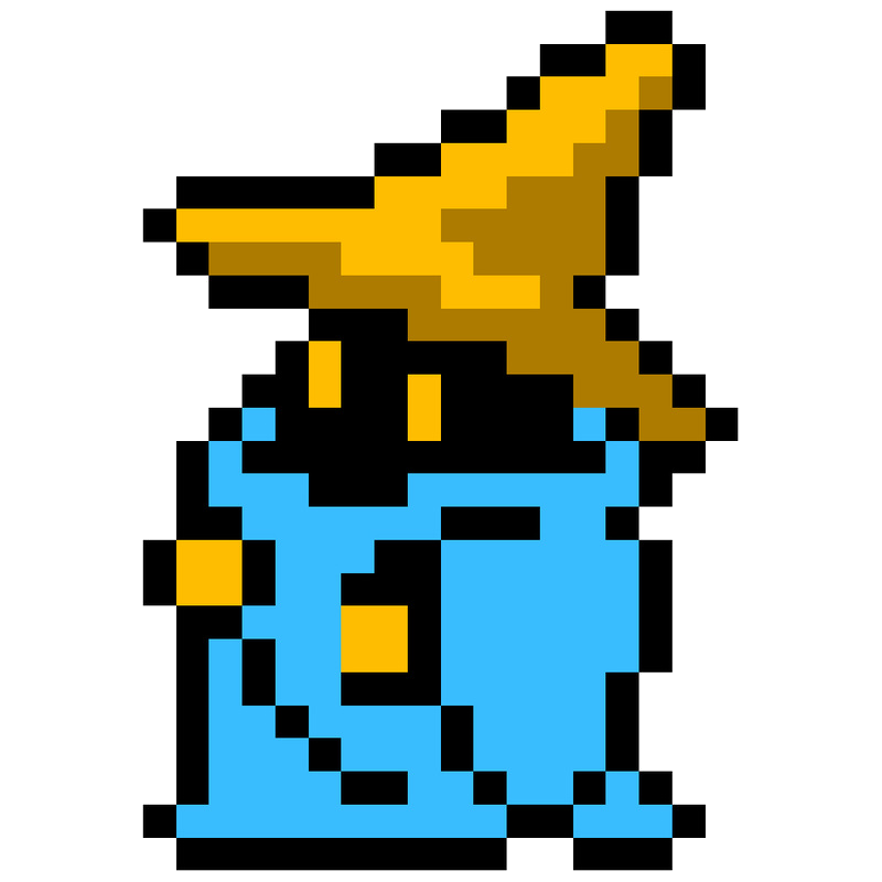 8 Bit Theater Black Mage World Of Smash Bros Lawl Wiki Fandom