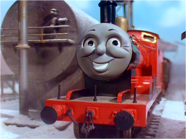 Image result for james the red engine