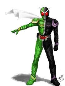Kamen Rider W by Diovega