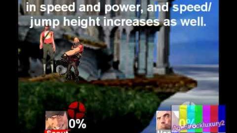 Super Smash Bros Brawl Custom Moveset - Scout