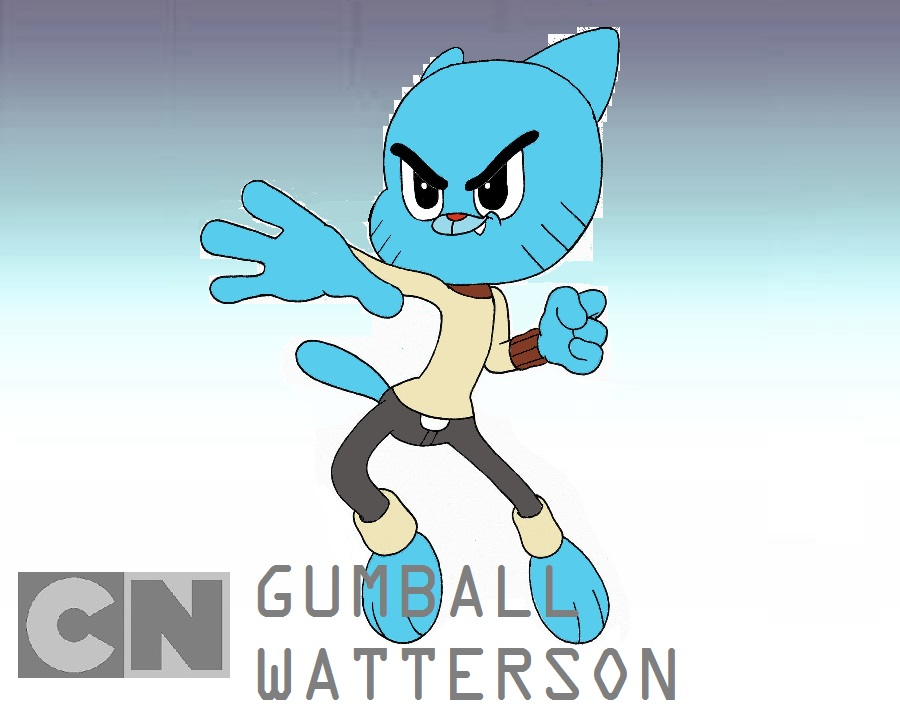 Gumball Watterson World Of Smash Bros Lawl Wiki Fandom Powered
