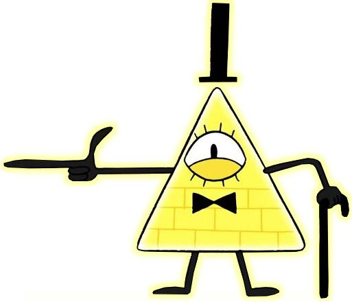 Bill Cipher Coloring Page No Print