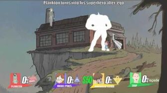 Smash Bros lawl X Character Moveset - Plankton-0