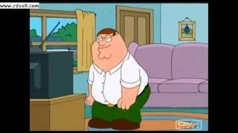 Video - Family guy- peter watches the ring (original)   World of