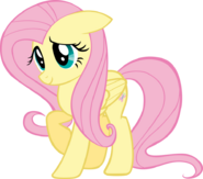 Fluttershy is shy by cherrygrove-d5hl8e5