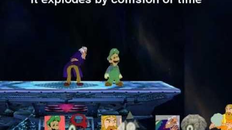 Smash Bros Brawl Character Moveset - Mama Luigi